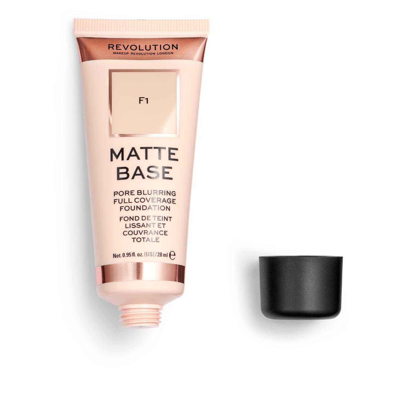 Base de maquillaje F1 Matte Base Revolution 1 ud. -