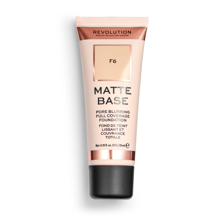 Base de maquillaje F6 Matte Base Revolution 1 ud.