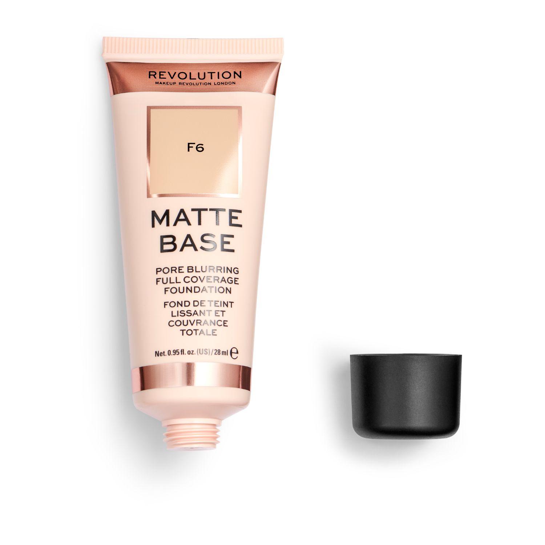 Base de maquillaje F6 Matte Base Revolution 1 ud. -