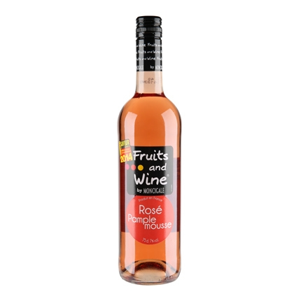 Vino pomelo rosado Fruits & Wine 75 cl.