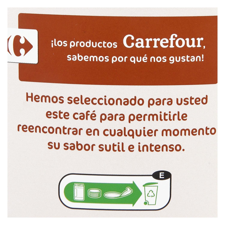 Café soluble natural classic Carrefour 325 g. - 2