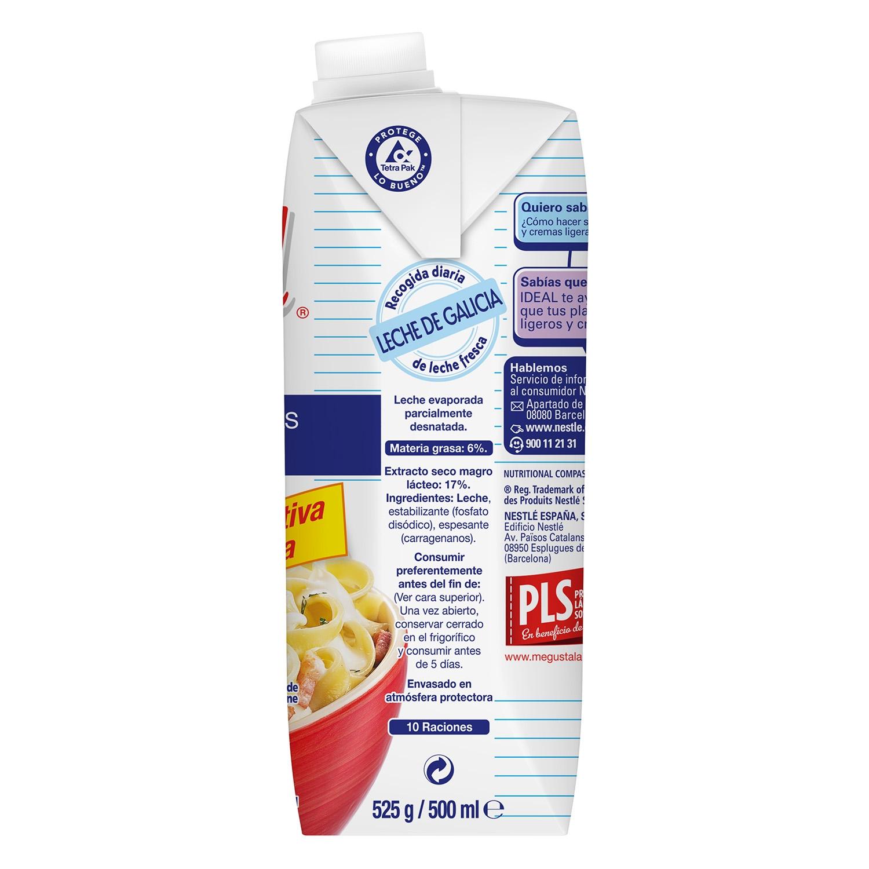 Leche evaporada desnatada Nestlé - Ideal 525 g. -