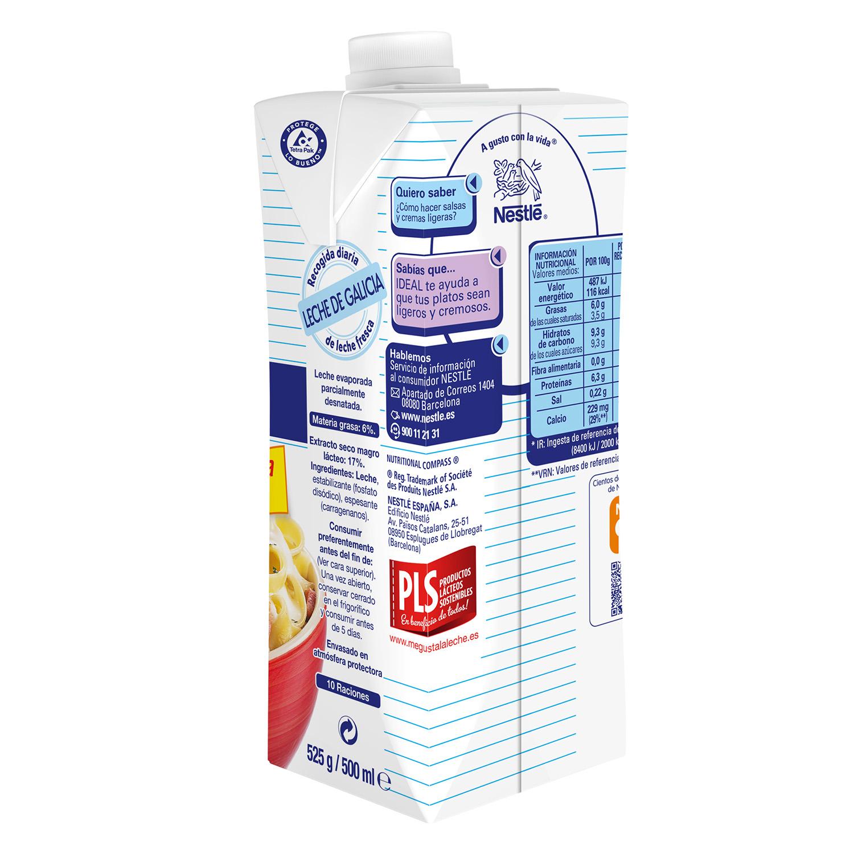Leche evaporada desnatada Nestlé - Ideal 525 g. - 2