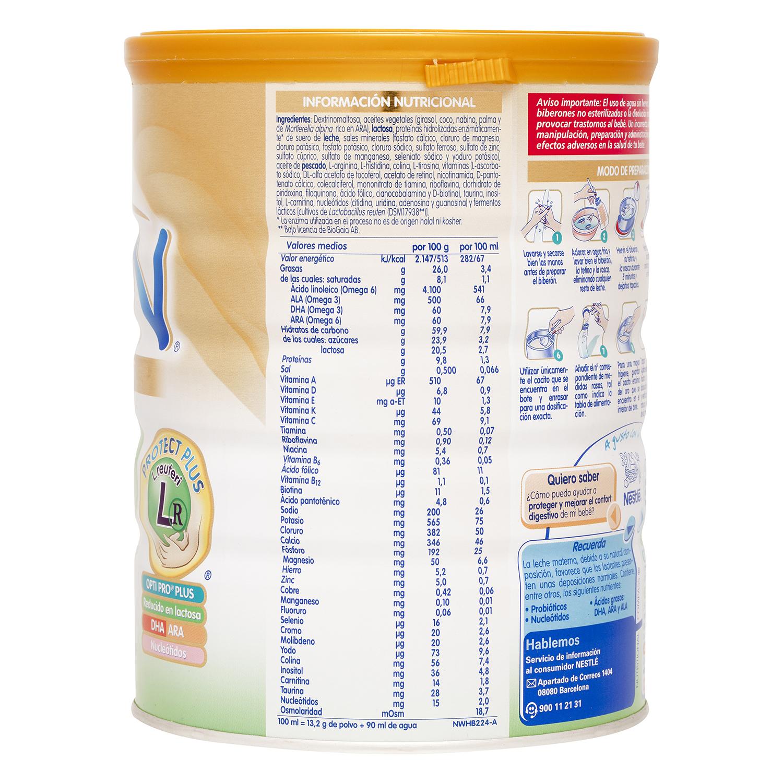 Leche Digest Nestlé Nan baja en lactosa 750 g. -