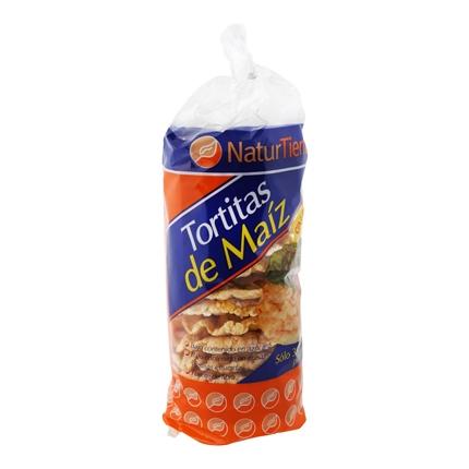Tortitas de maíz Naturtierra 140 g.