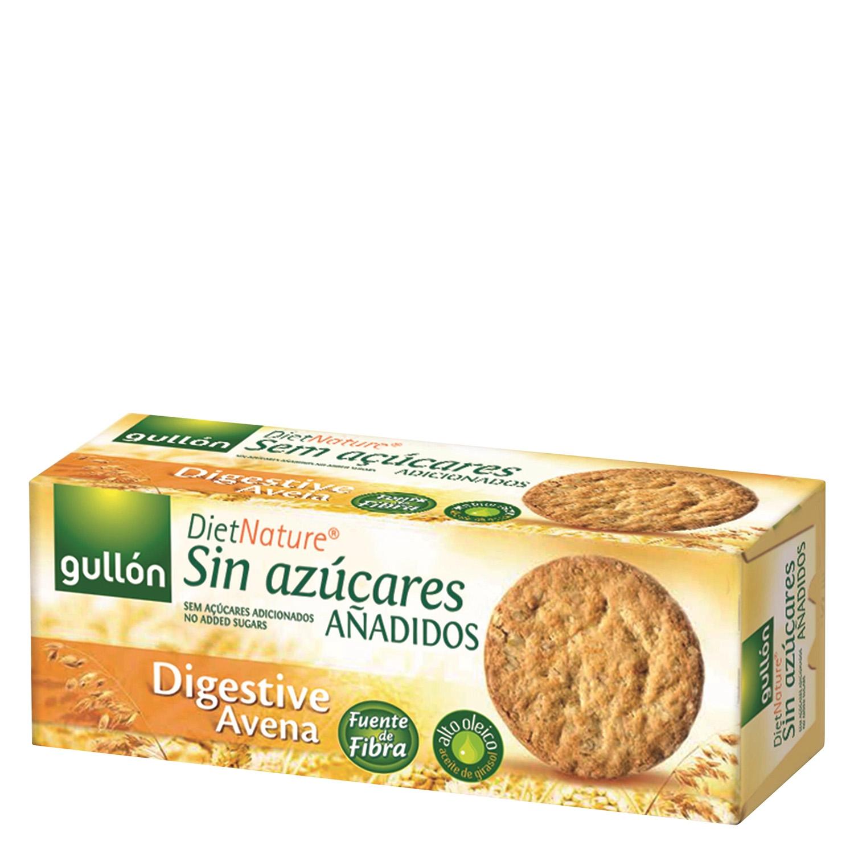 Galleta Digestive con avena sin azucares añadidos