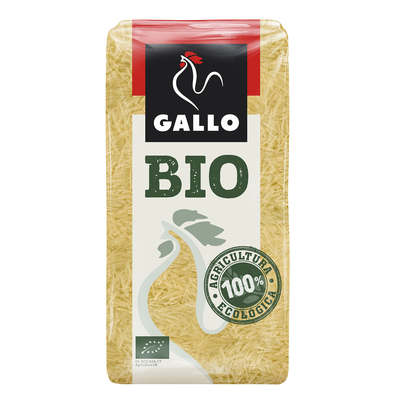 Fideo ecológico Gallo 500 g.