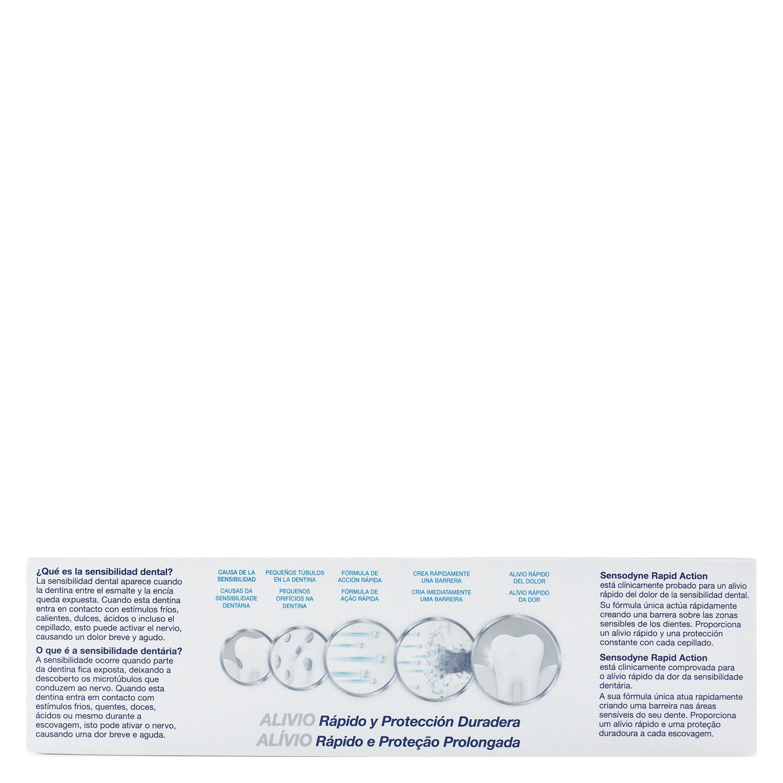 Dentífrico para dientes sensibles Rapid Blanqueante Sensodyne 75 ml. - 3