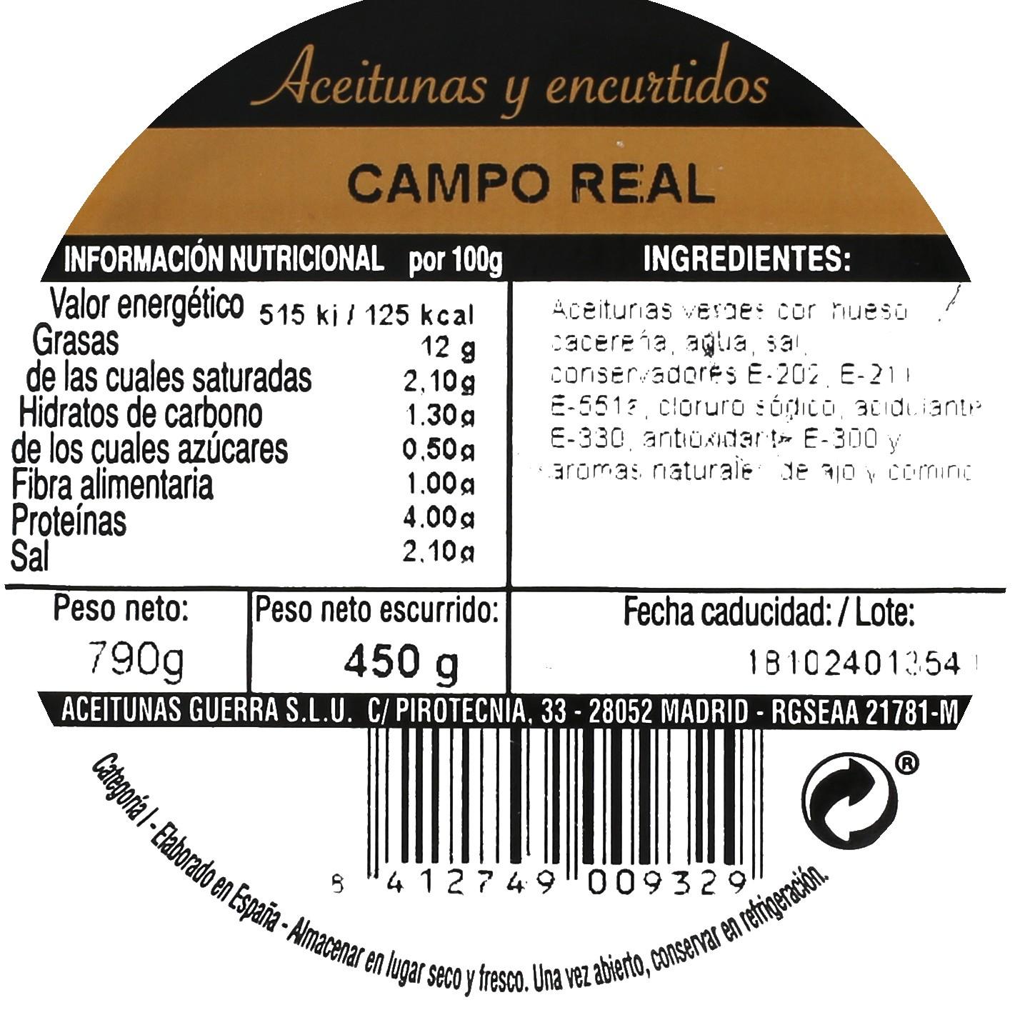 Aceitunas Campo Real - 3
