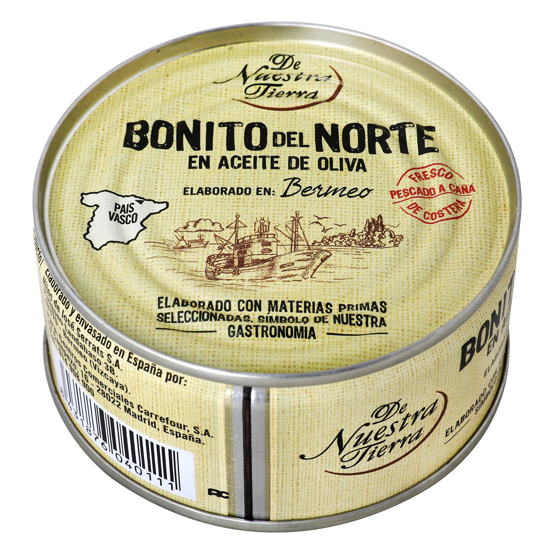Bonito del Norte en aceite de oliva De Nuestra Tierra 85 g.