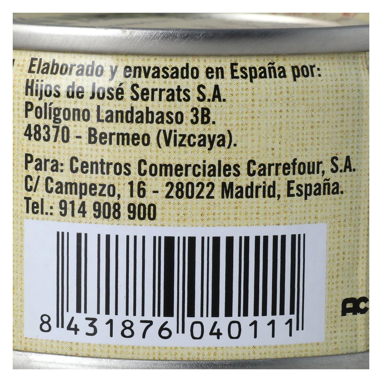 Bonito del Norte en aceite de oliva De Nuestra Tierra 85 g. - 2