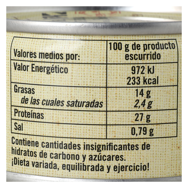 Bonito del Norte en aceite de oliva De Nuestra Tierra 85 g. -