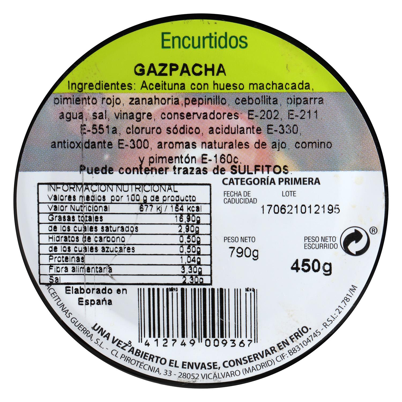 Aceituna Gazpacha - 2