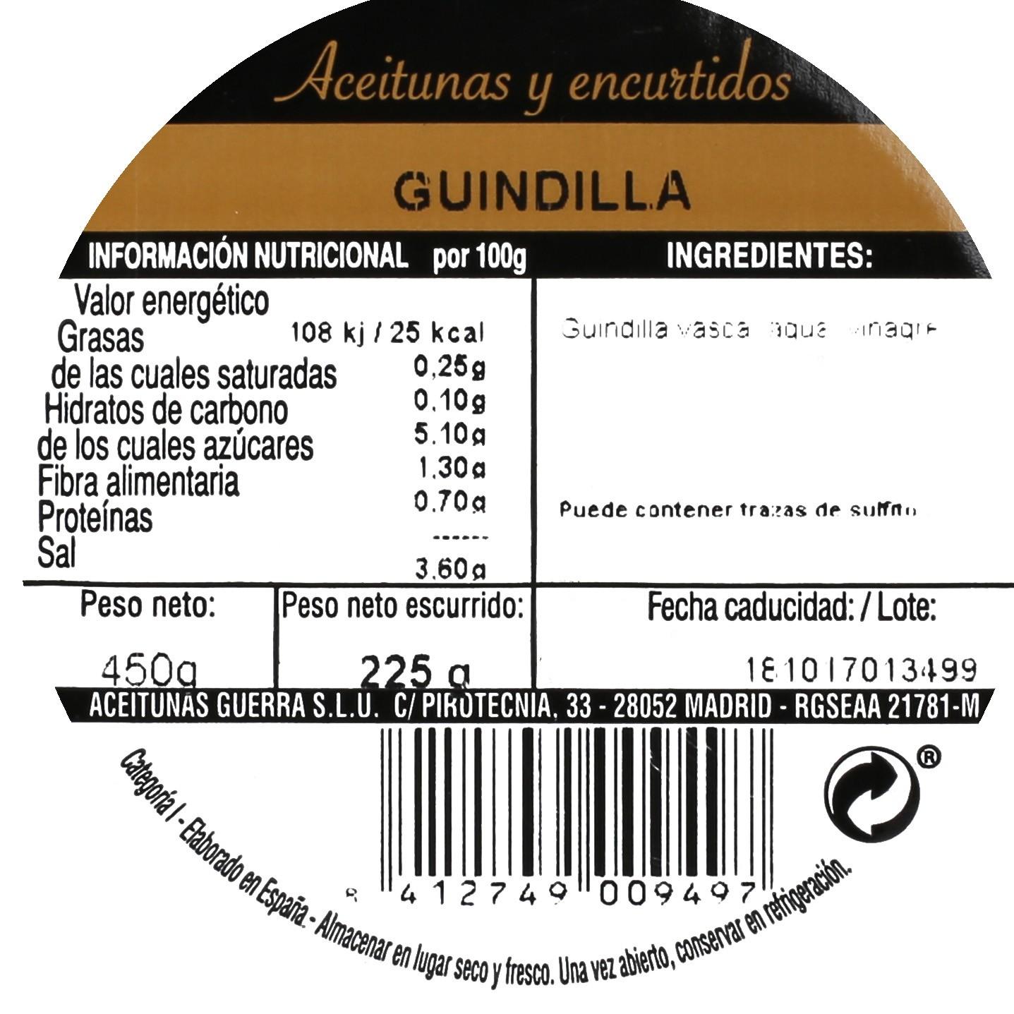 Guindilla Aperitivo 225 g - 3