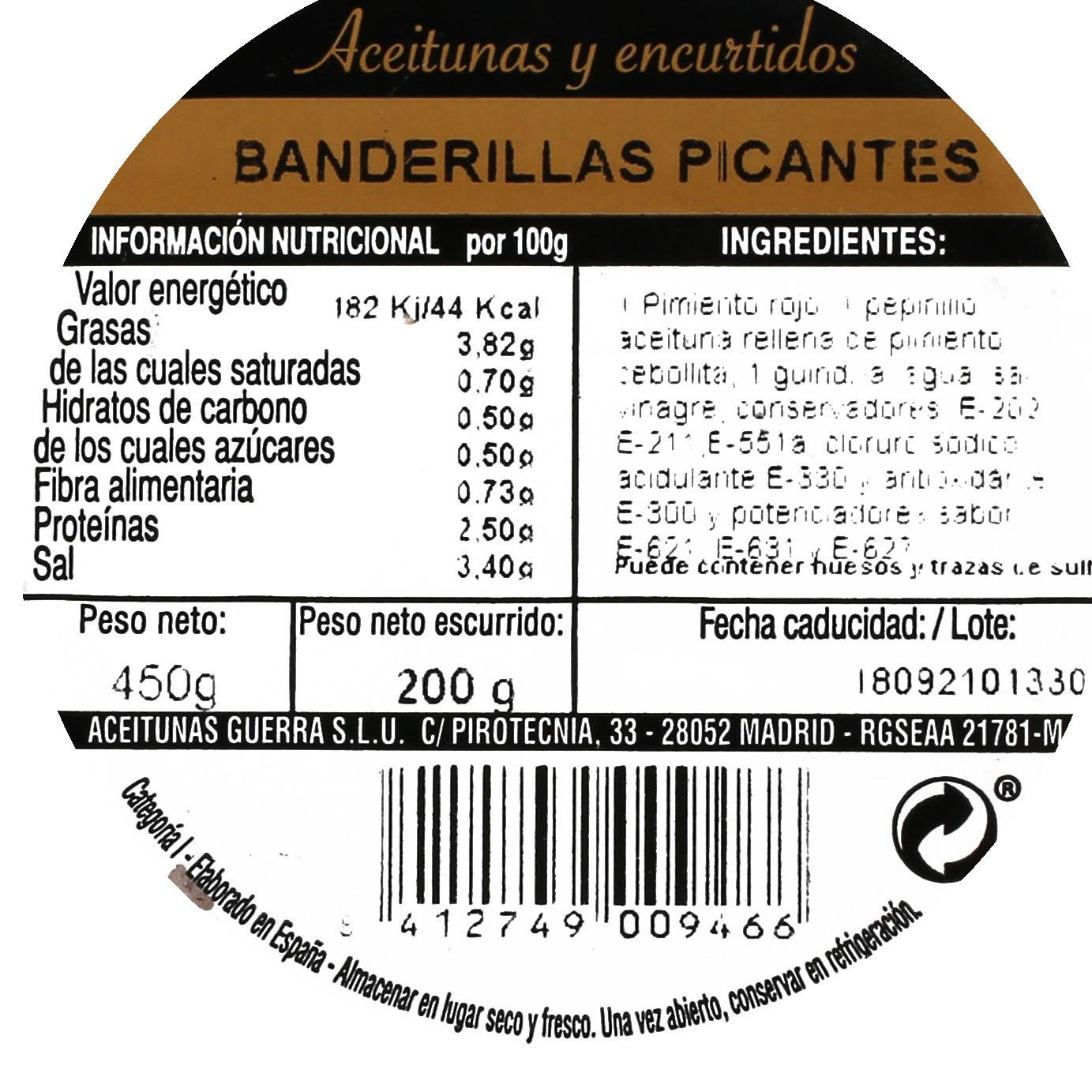 Banderillas picantes - 3