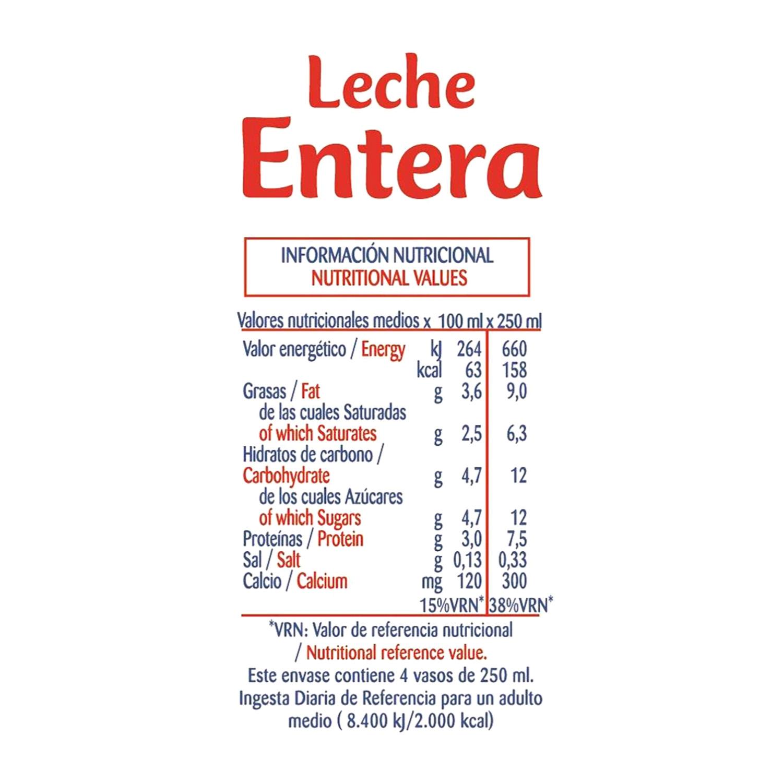 Leche entera Président botella 1,5 l. -