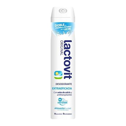 Desodorante con proteínas de leche Lactovit 200 ml.