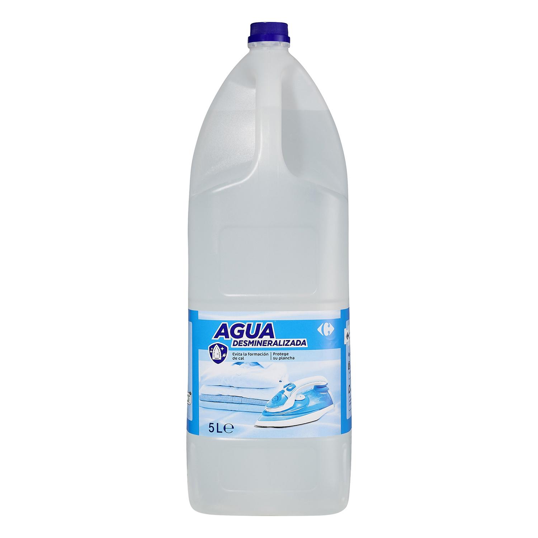 Agua de plancha desmineralizada Carrefour 5 l.