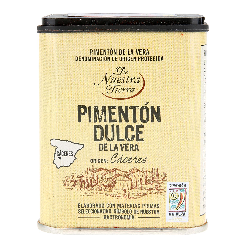 Pimentón dulce De Nuestra Tierra 70 g.