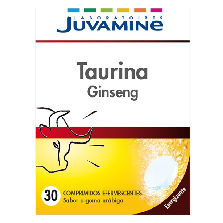 Taurina ginseng Juvamine 30 ud.