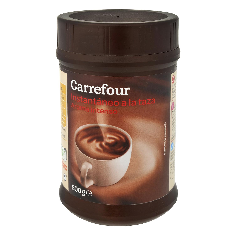 Chocolate a la taza en polvo Carrefour 500 g.