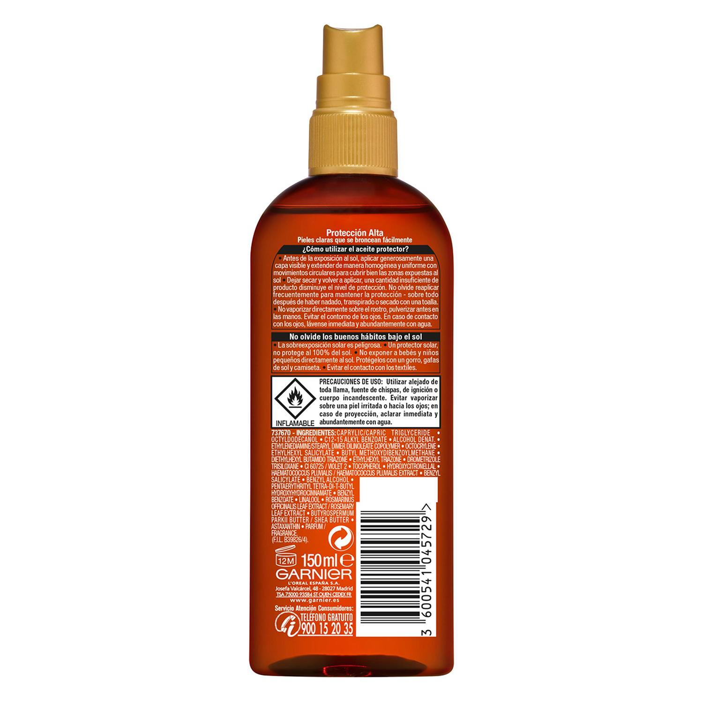 Aceite solar FP 30 Delial 150 ml. -