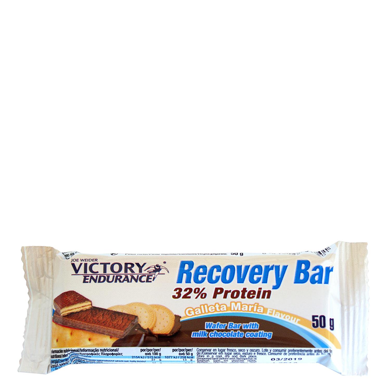 Barritas de proteínas sabor galletas María Recovery Victory Endurance 50 g.