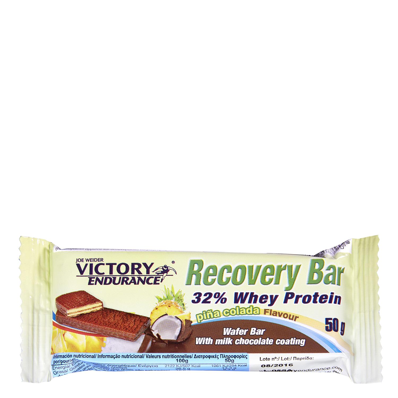 Barritas de proteínas sabor piña Recovery Victory Endurance 50 g.