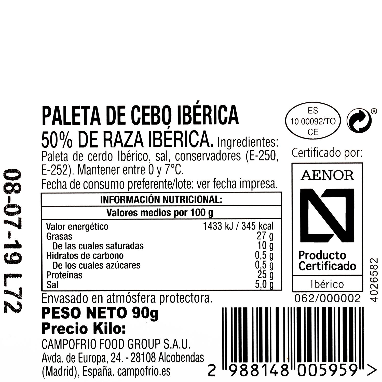 Jamón ibérico en lonchas Navidul 180 g - 3