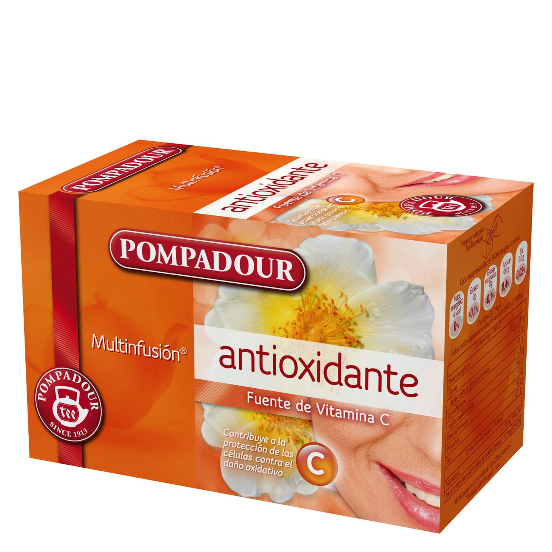 Infusión antioxidante