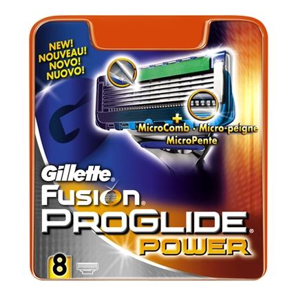 Recambio fusion proglide power Gillette 8 ud.