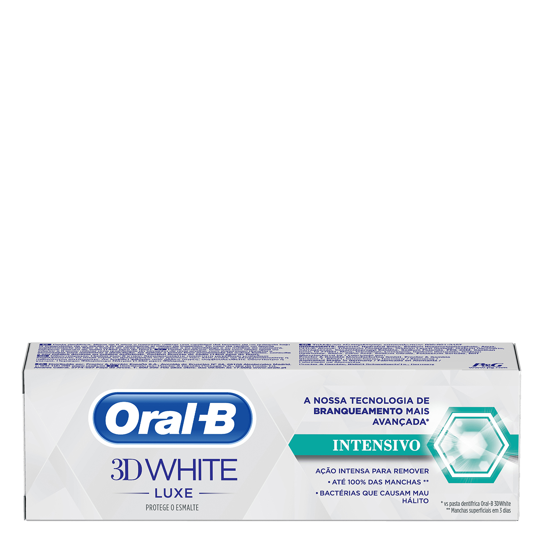 Dentífrico intensivo 3D White Luxe Oral-B 75 ml. - 2