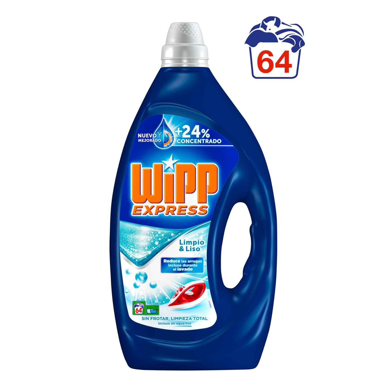 Detergente gel limpio & liso