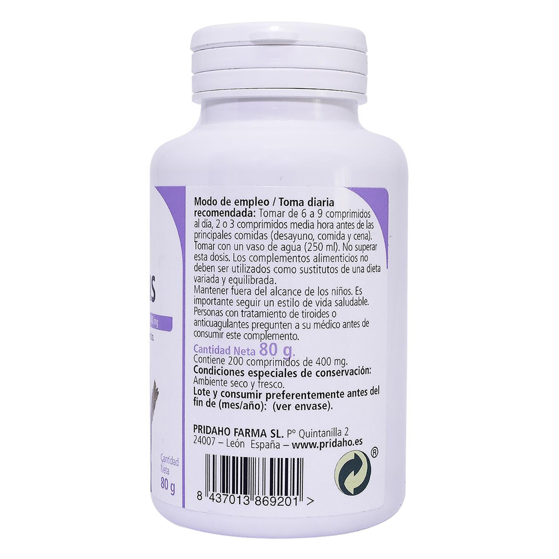 Fucus comprimidos Sanon 200 ud. - 2