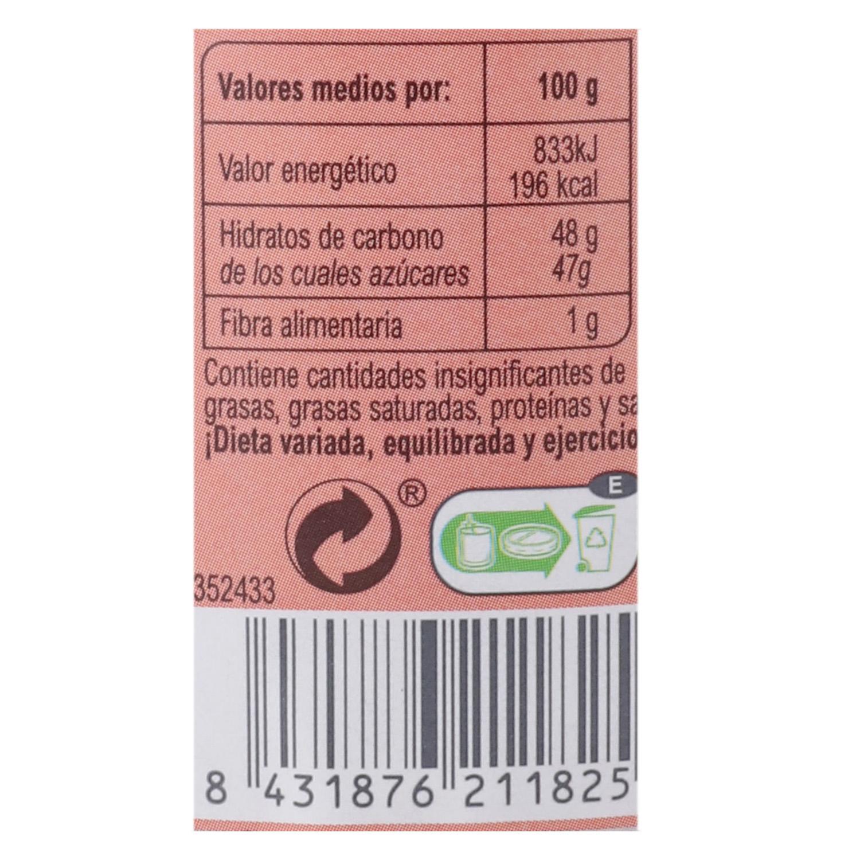 Mermelada de tomate categoría extra Carrefour sin gluten 410 g. -