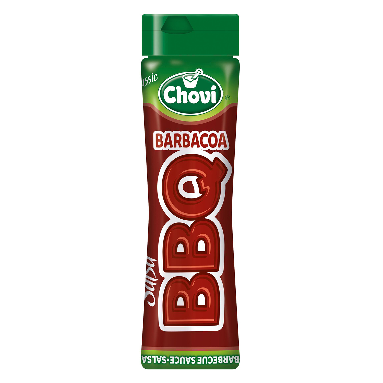 Salsa barbacoa Chovi envase 450 g.