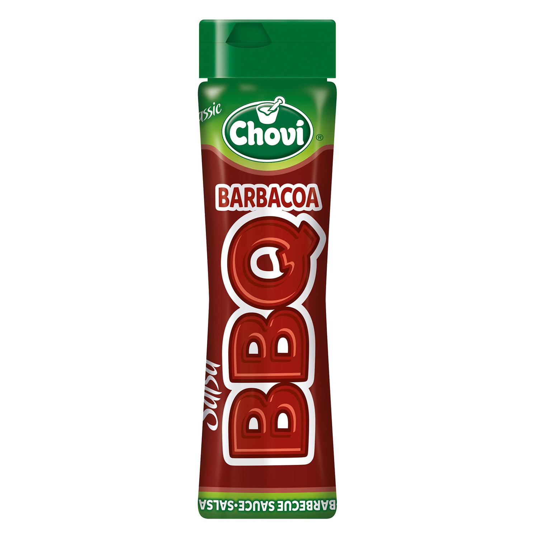 Salsa barbacoa Chovi 450 g.