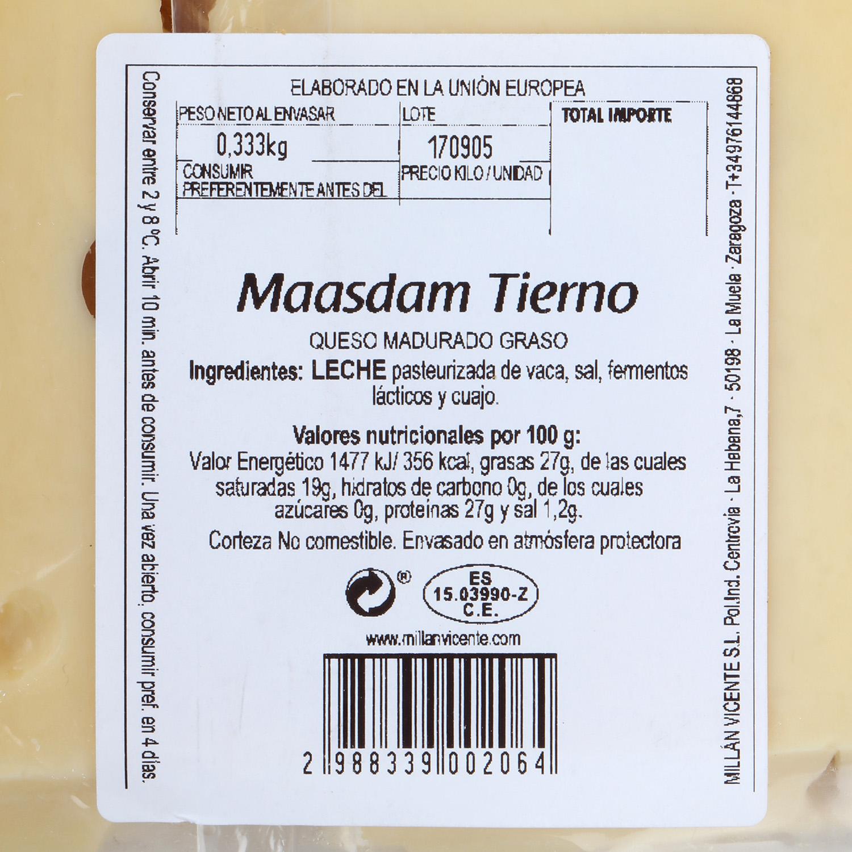 Maasdam tierno  - 2