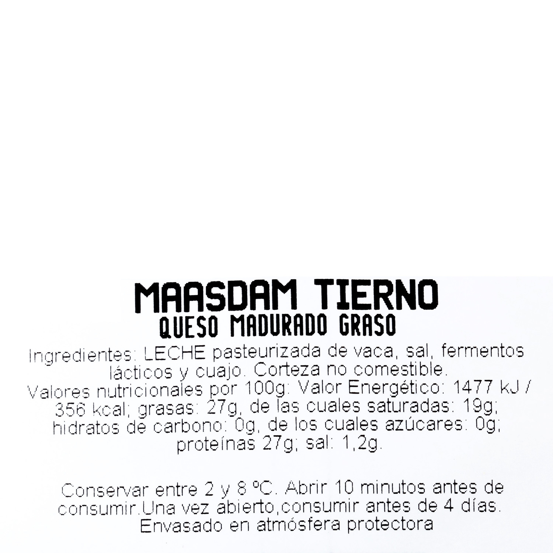 Maasdam tierno  - 3