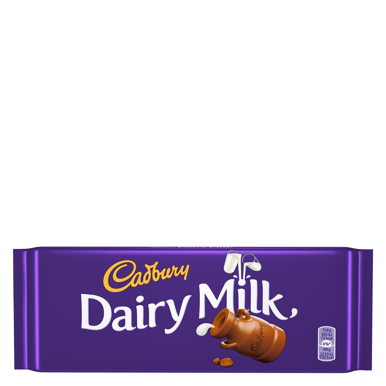 Chocolate con leche Cadbury 200 g.