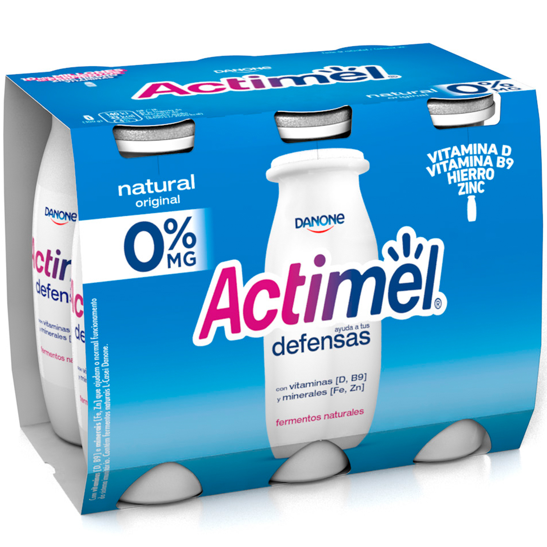 Yogur Líquido Casei Natural Desnatado -
