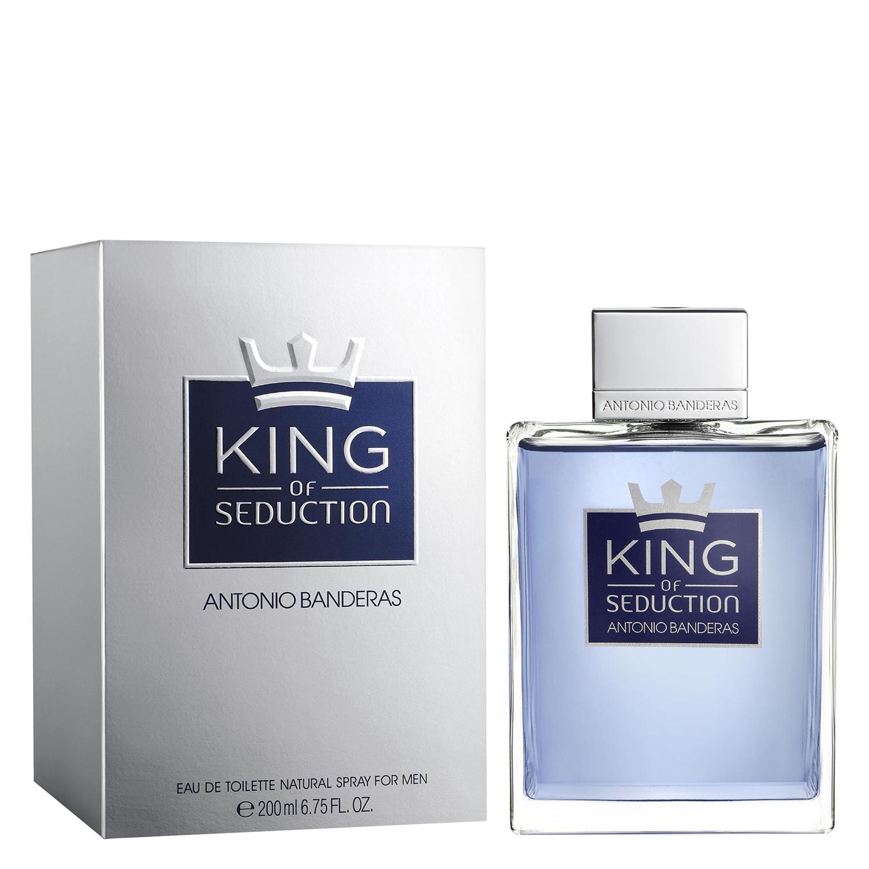 Agua de colonia King of Seduction Antonio Banderas 200 ml.