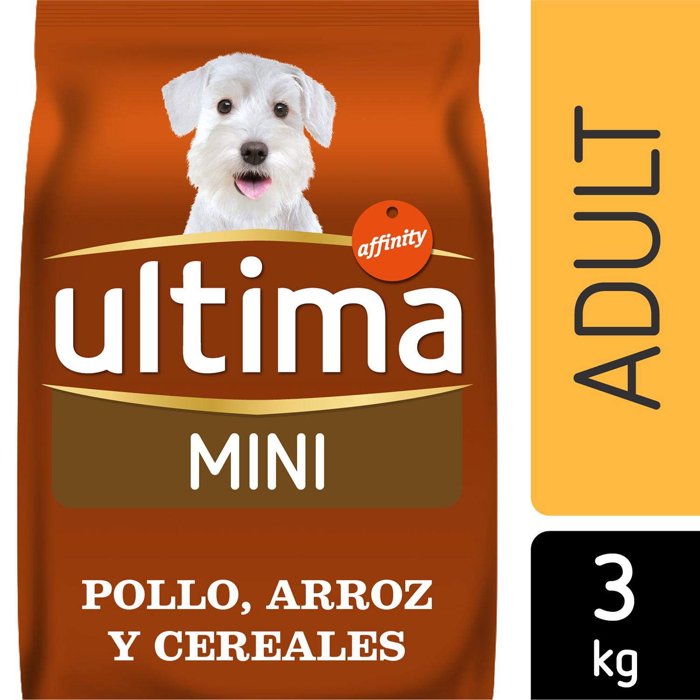 Ultima Pienso para Perro Adulto Mini Sabor cordero 3 Kg. -