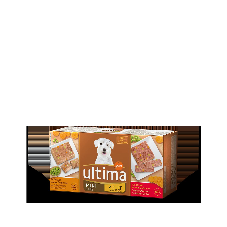 Ultima Comida Húmeda para Perros Mini Adultos Sublime 4x150gr.