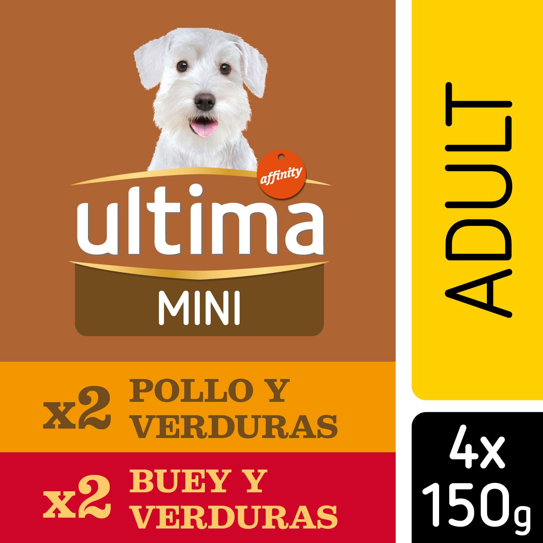 Ultima Comida Húmeda para Perros Mini Adultos Sublime 4x150gr. -