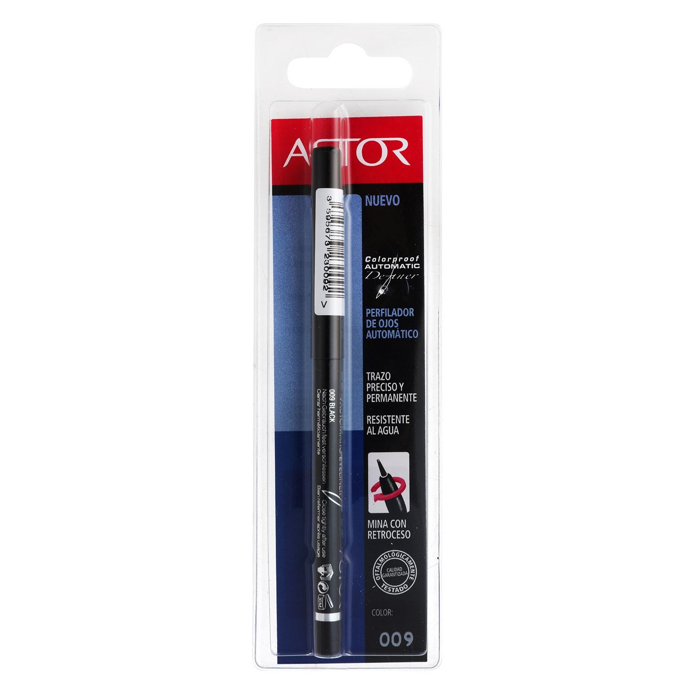 Eye liner pencil negro trazo preciso y permanente - automatic definer nº009