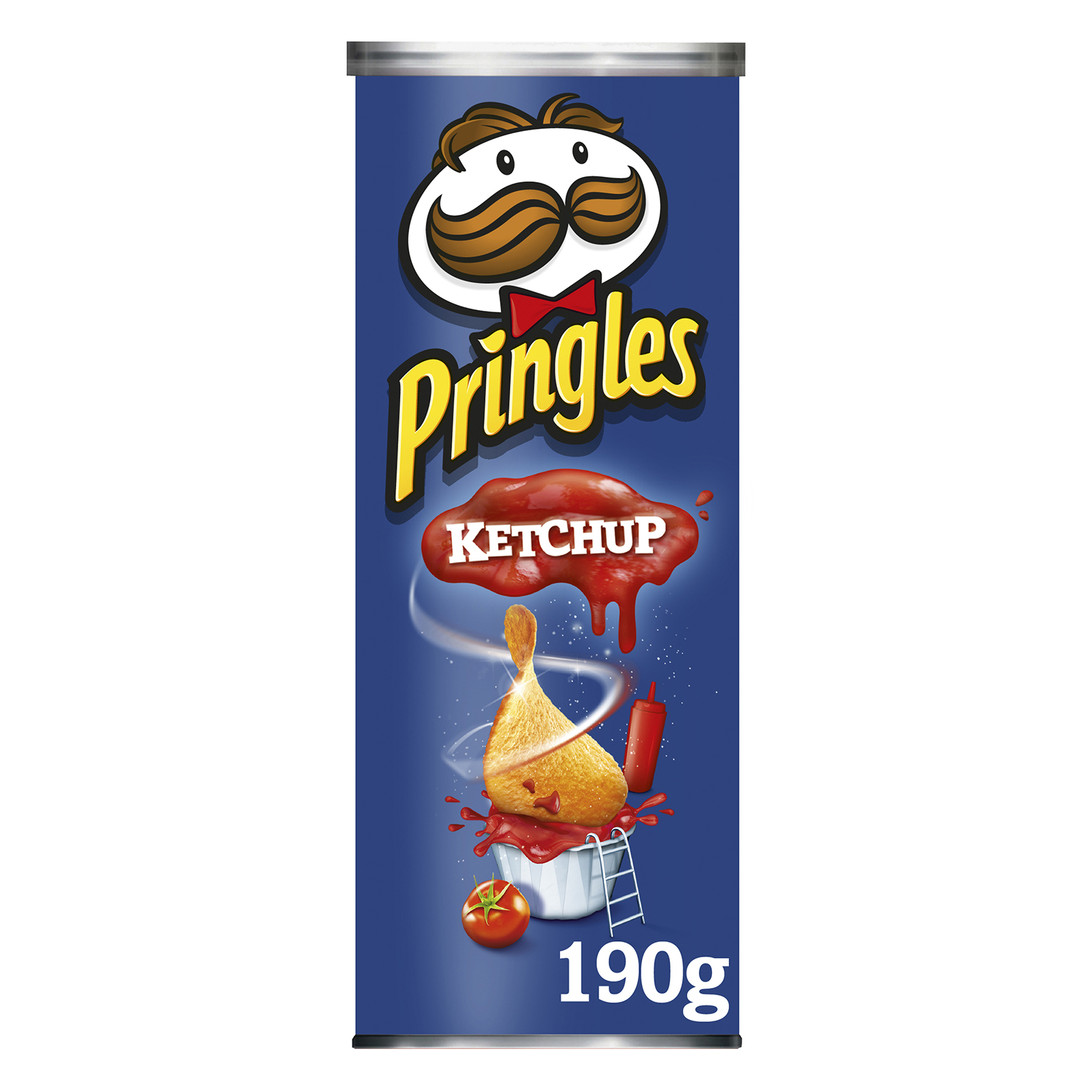 Snack de patatas ketchup