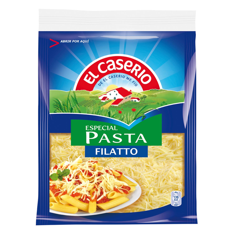 Queso rallado filatto especial pasta El Caserío 45 g.