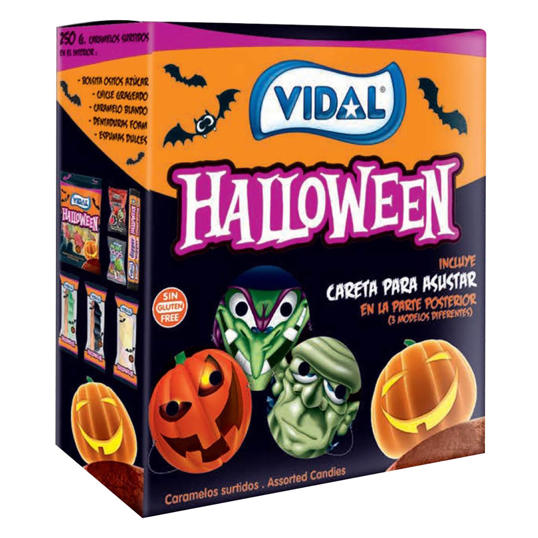 Caramelos de goma halloween Vidal sin gluten 250 g.