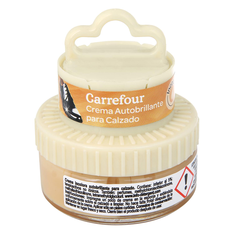 Crema autobrillante c/aplicador  incoloro
